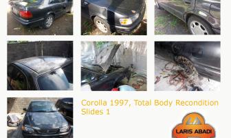 Toyota Corolla 1997, Pengecatan Ulang.