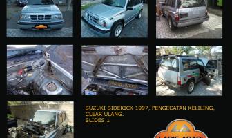 Suzuki Sidekick 1997, Cat Keliling, Clear Ulang Total.