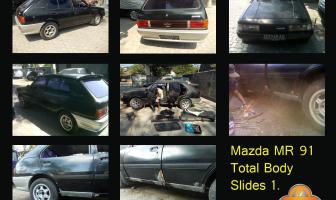 Mazda MR91,Rekondisi Cat Total Body