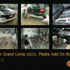 Nissan Grand Livina 2012, Pemasangan dan Pengecatan Body Kit Plastik