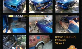 Datsun 160J, Restorasi Total Body