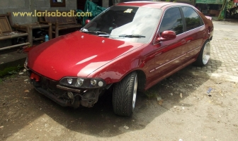 Honda Civic Genio, Pengecatan & Pemasangan Bodykit Custom