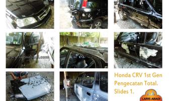 Honda CRV 2001, Pengecatan Total