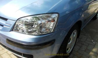Hyundai Getz, repair Fender kiri