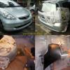 Honda Jazz GD3, Pengecatan Kap mesin, Bumper, Atap dan Velg