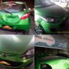 Mazda 2, Rekondisi Apron dan Bagasi Pasca Kecelakaan