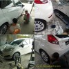 Ford Fiesta, Bodykit Custom Add On Fiber