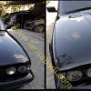 BMW 520i E34, Pengecatan Kap Mesin