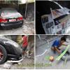 Honda Civic 2009 (FD) Pembuatan Bodykit Depan & Ductail