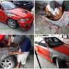 Civic Ferio (EK), Perbaikan Setelah Kecelakaan