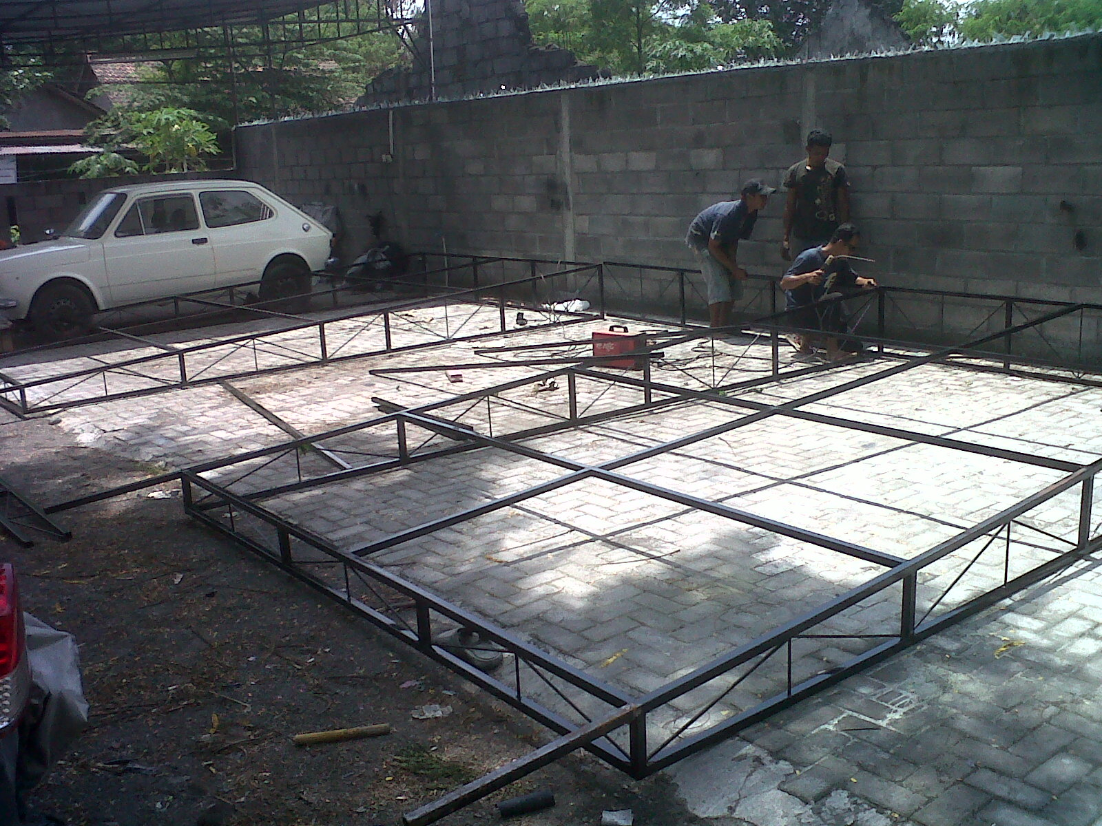 Pemasangan atap