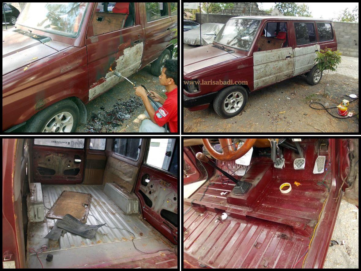 Restorasi Total Toyota Kijang Super 90 Laris Abadi