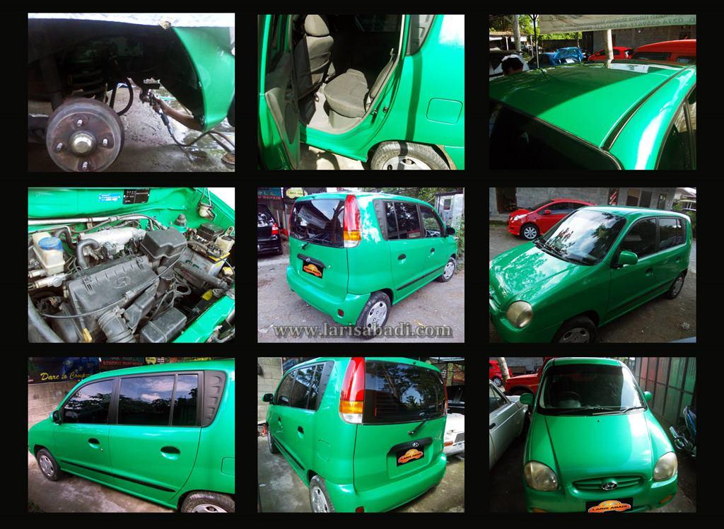 Hyundai Atoz Green