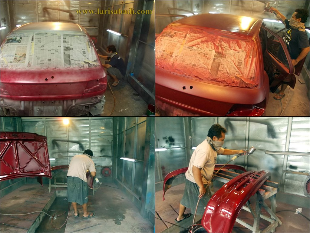 Painting The Starlet EP 81 Red
