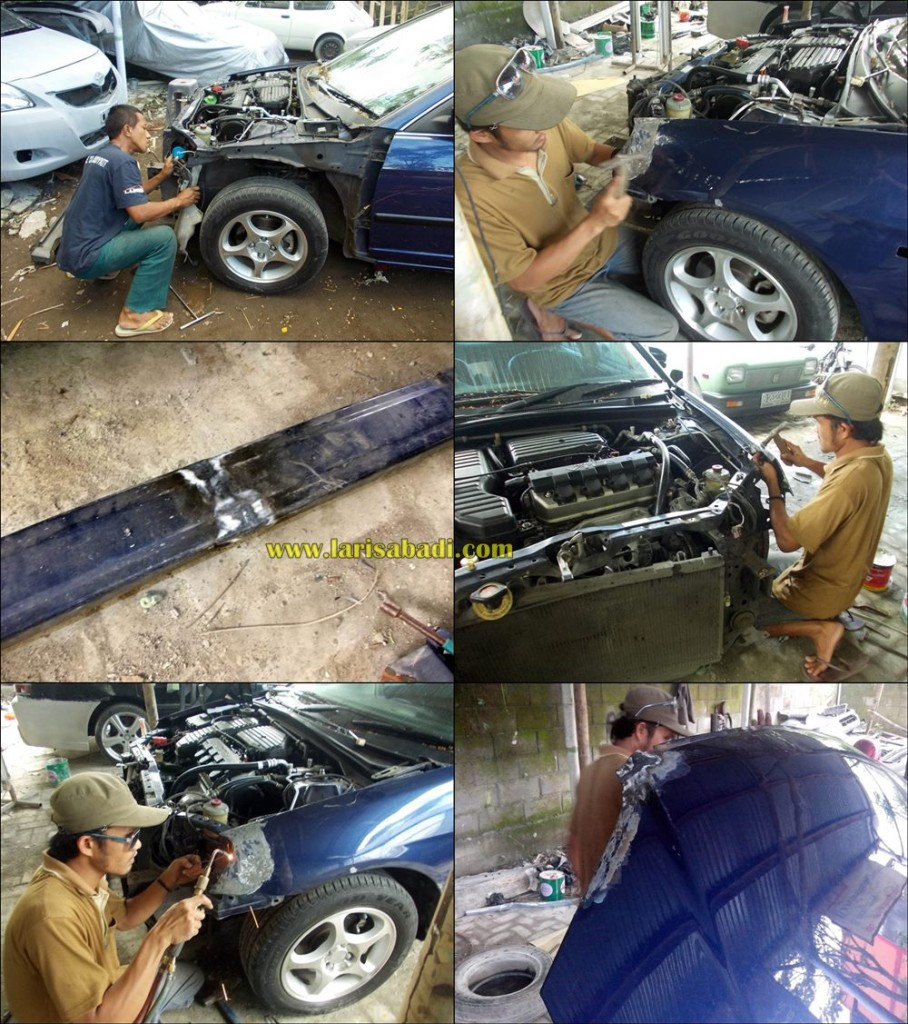 Repairing Civic ES Crash
