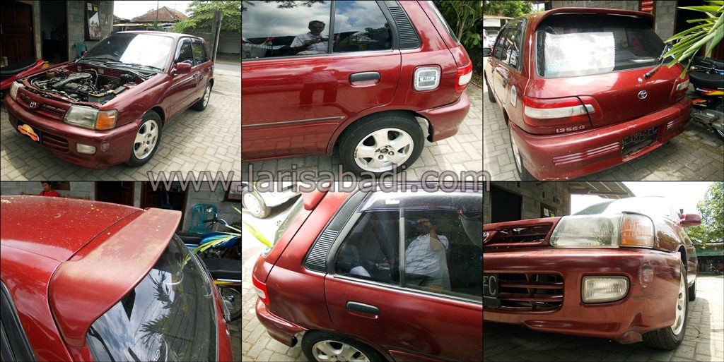 Starlet EP81 Red 1