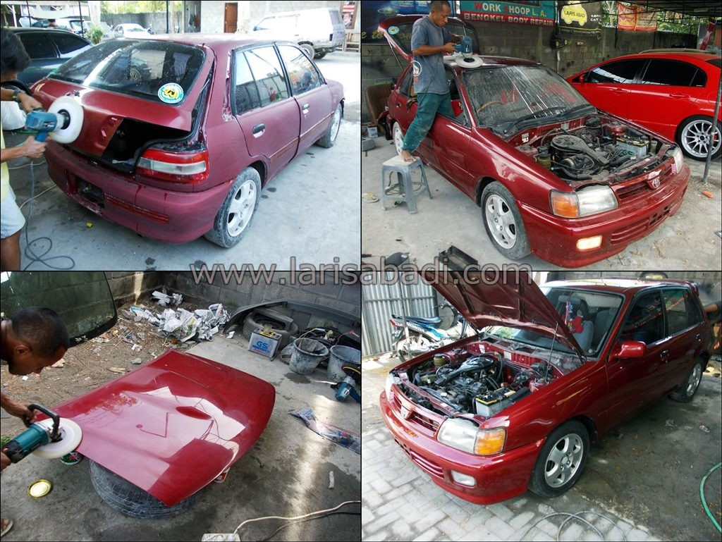 Starlet EP81 Red 5