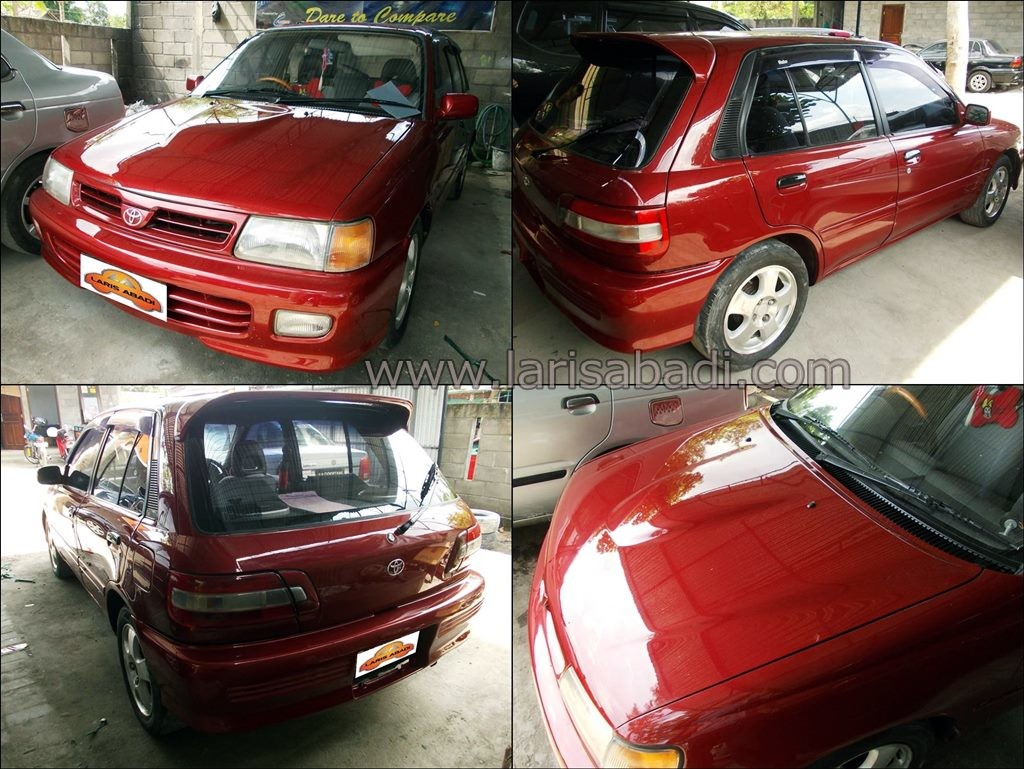Starlet EP81 Red 6