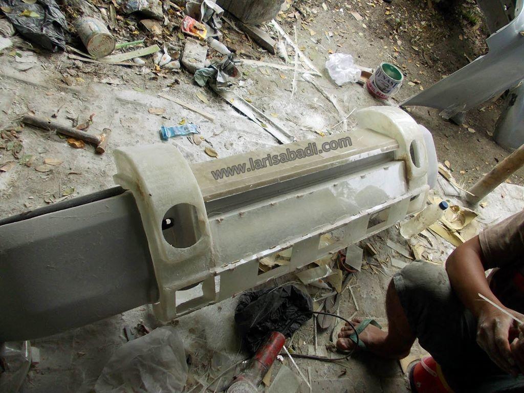 Pembuatan Bumper Gyard