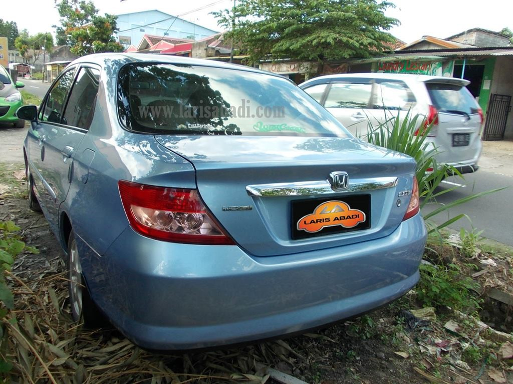 Honda City Blue 6