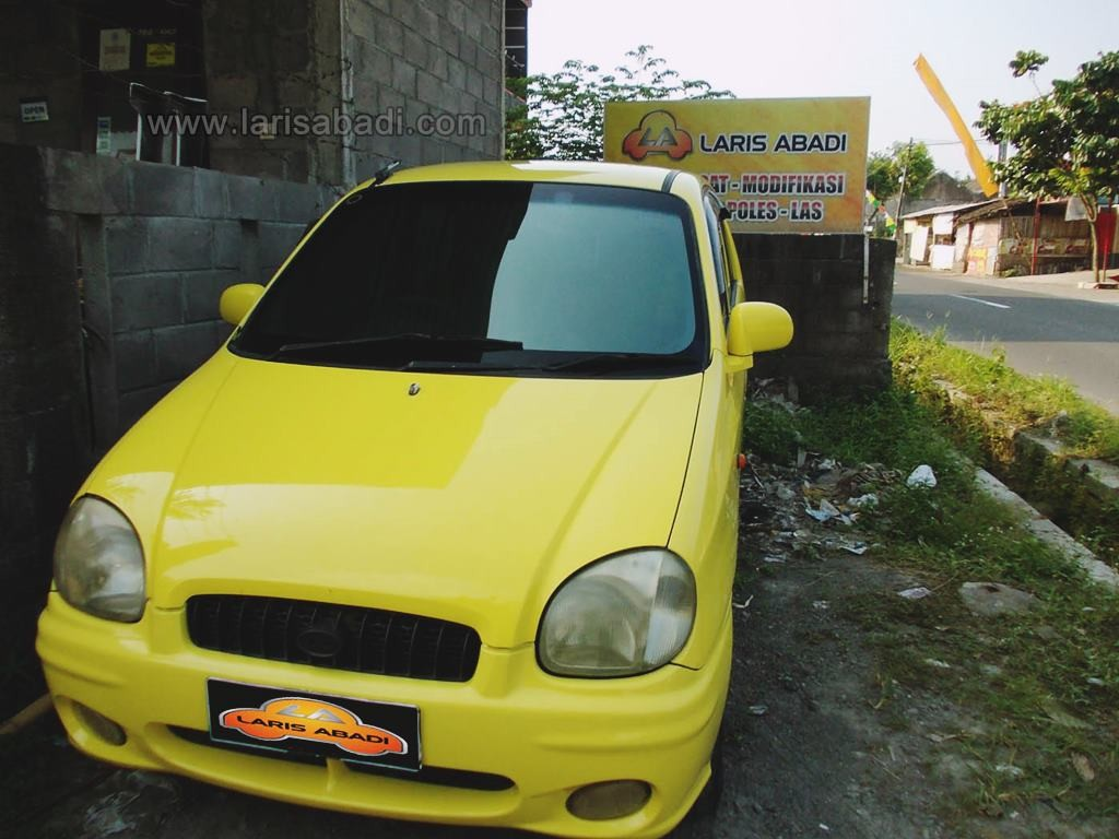 KIA Visto Yelow 1