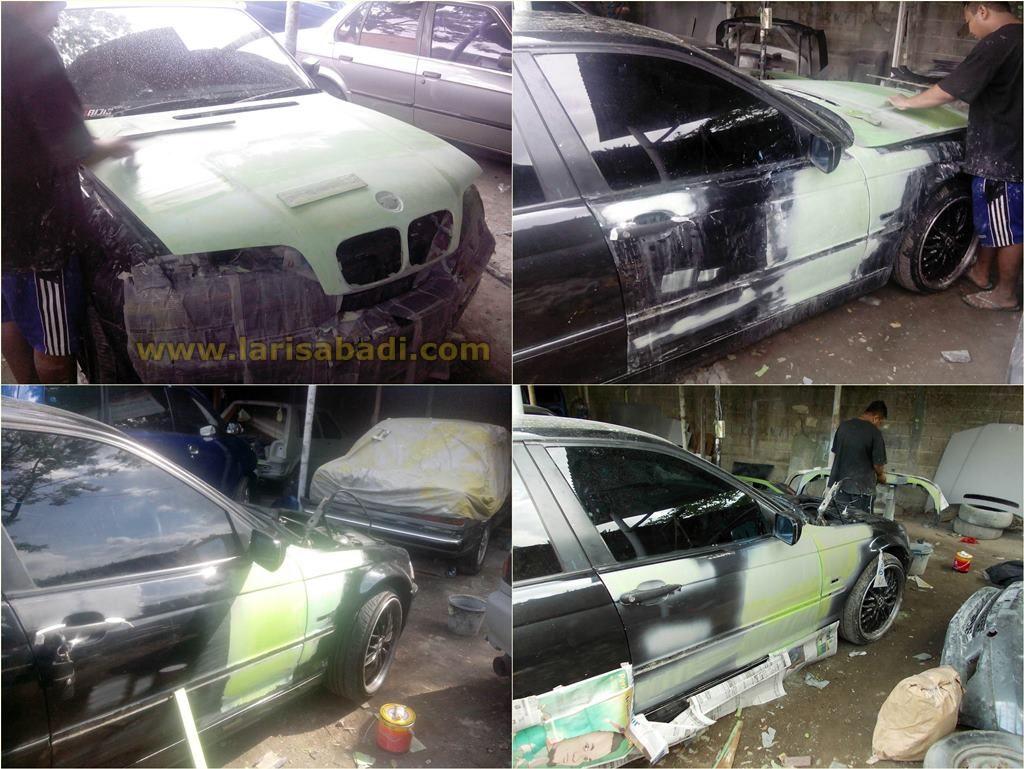 BMW E46 Black 3