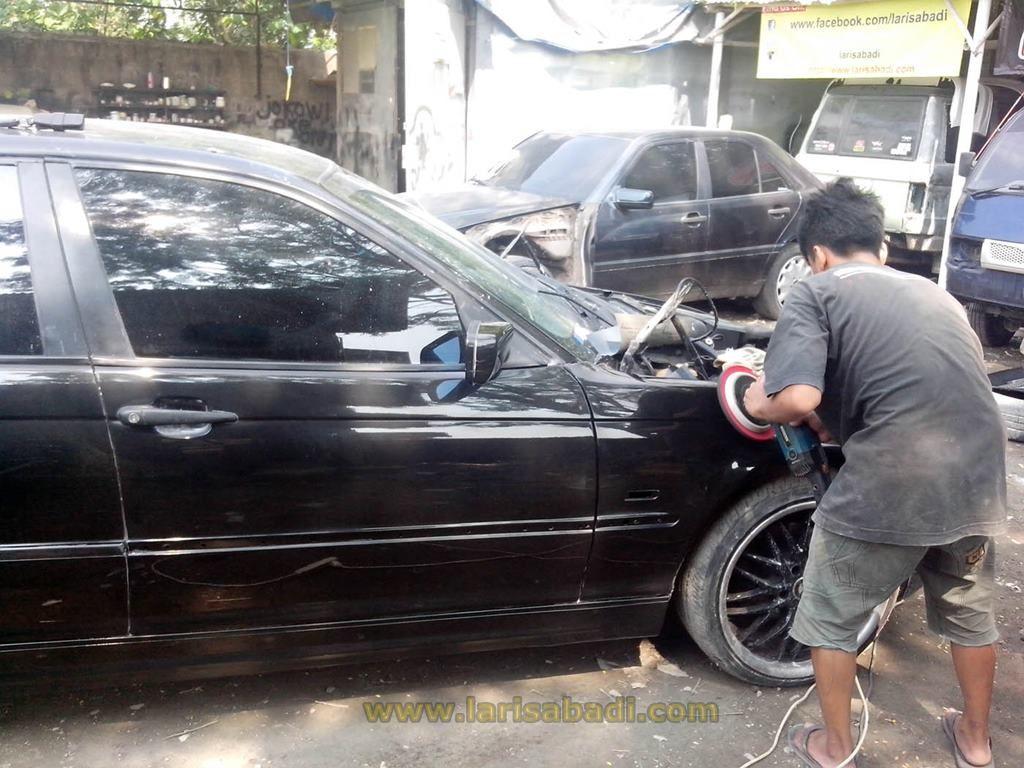 BMW E46 Black 5
