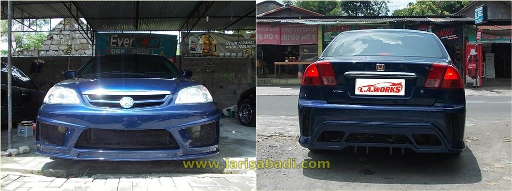 Civic ES Blue 6