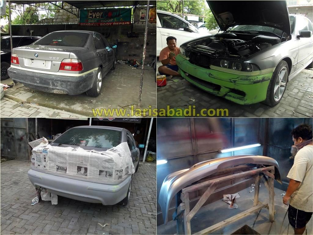 BMW 528 Grey 2