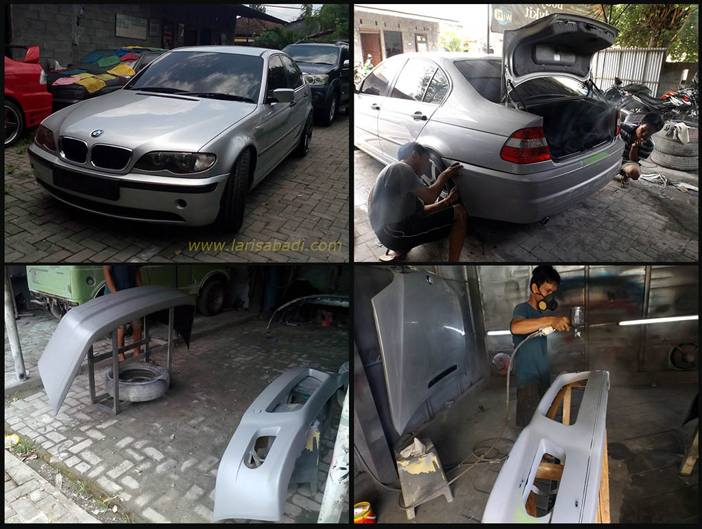 BMW 320 E46, M3 Bodykit Fitting